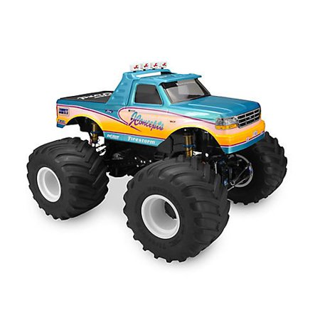 1/10 1993 Ford F-250 Monster Truck Clear Body with Racerback and Visor](Mack Truck Hats)