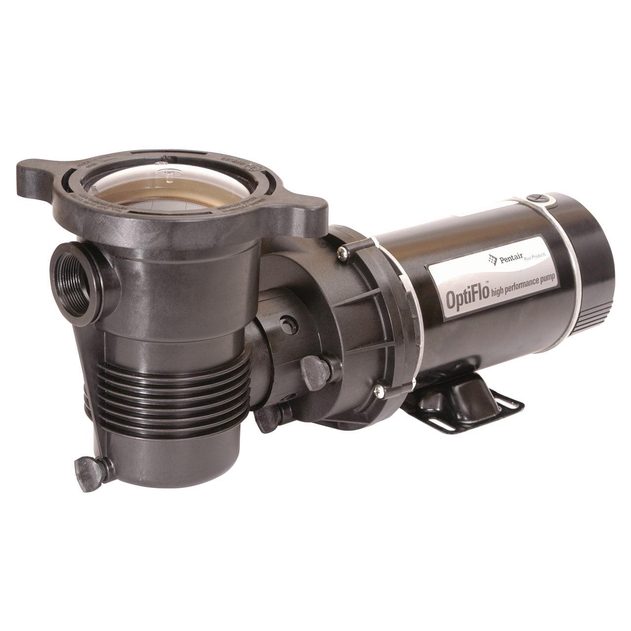 Pentair OptiFlo 1 HP Above-Ground Pool Pump