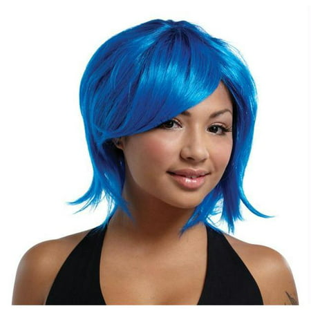 Costumes For All Occasions Mr177418 Sweetshag Wig Blue-Royal Blue](Katy Perry Wigs For Sale)