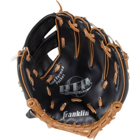 Black Baseball Glove - Franklin Sports 8.5