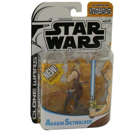Star Wars The Animated Series ANAKIN SKYWALKER Action Figure Clone Wars 2nd Version w/