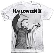 Halloween II Horror Thriller Movie Michael's Revenge Adult Front Print T-Shirt
