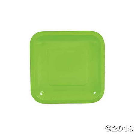 Lime Green Square Paper Dessert Plates](Square Dessert Plates)