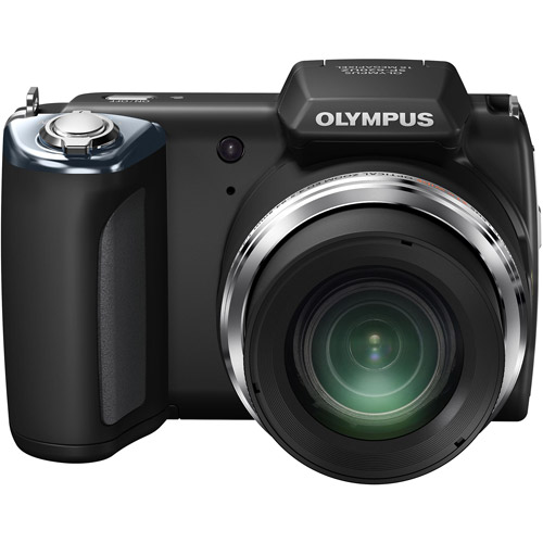 16 Megapixel Digital Camera with 21x Wide Optical Zoom and 3.0 Inch LCD - Black