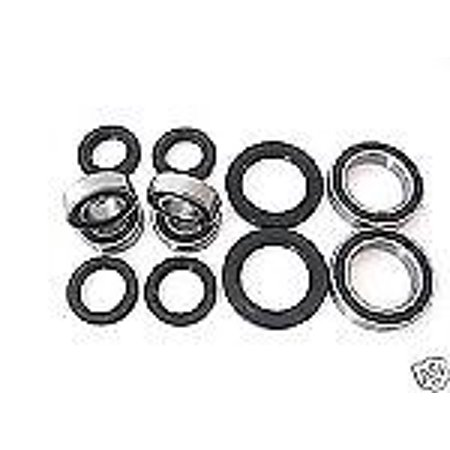 Combo Pack! All Wheel plus Axle Bearings and Seals Kit