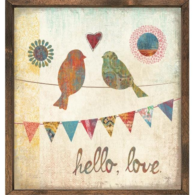 Forest Creations AP67 Art Print - Hello, Love