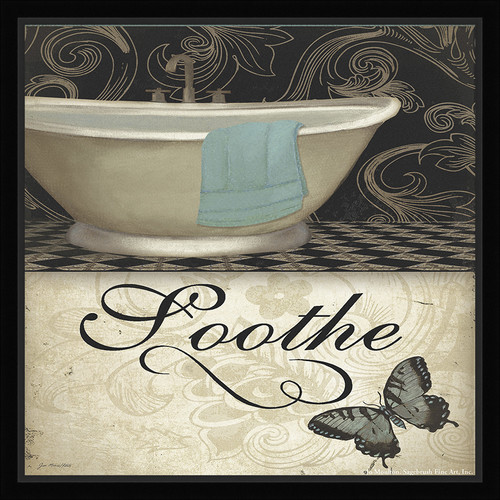 Ashton Wall D cor LLC Trends Soothe Framed Graphic Art
