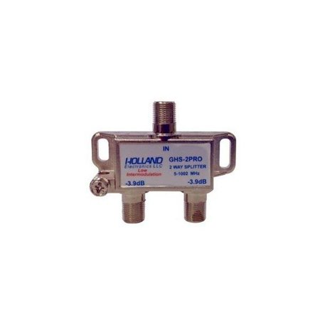 Holland Electronics High Shield Antenna 1Ghz Splitter/Combiner-2-Way (Pv Array Combiner)