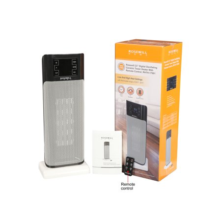 Rosewill Electric Oscillating Tower Heater and Cooling Fan with Thermostat / Portable Ceramic