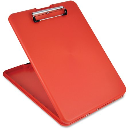 Saunders, SAU00560, SlimMate Storage Clipboard, 1 Each, Red