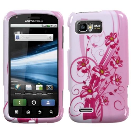 Insten Blooming Lily Phone Case for MOTOROLA: MB865 (Atrix 2)