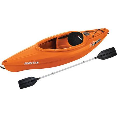 Sun Dolphin Aruba 8 SS Sit-In Kayak, Paddle Included