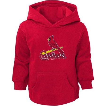 St Louis Rams Pullover Fleece (St. Louis Cardinals Toddler Primary Logo Fleece Pullover Hoodie -)