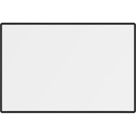 Best-Rite Magne-Rite Presidential Trim Wall Mounted Whiteboard