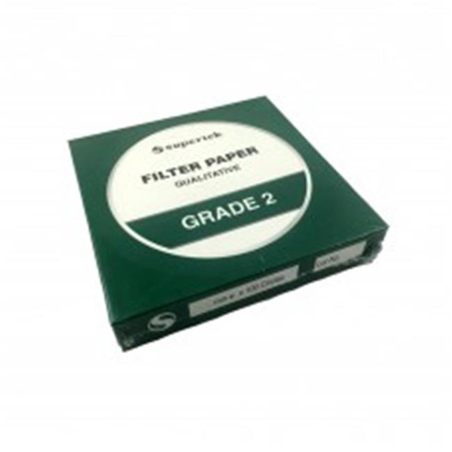 American Educational 7-FP-002-150 150 mm Filter Paper - Grade 2, 100 Per Set