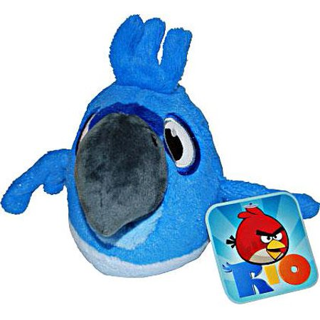 Angry Birds Rio Blu Plush - Angry Birds Toys Walmart