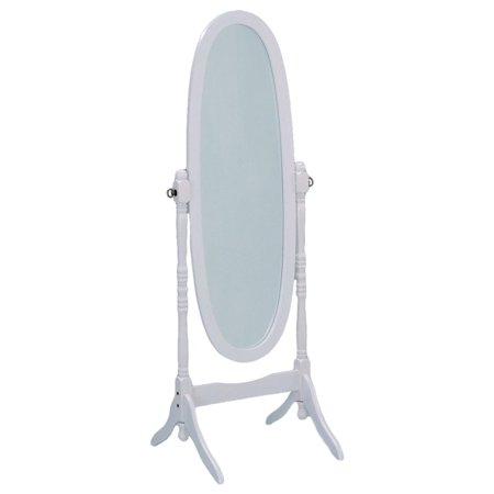 Towle Old Mirror (Old Style Wooden Full-Length Mirror In White )
