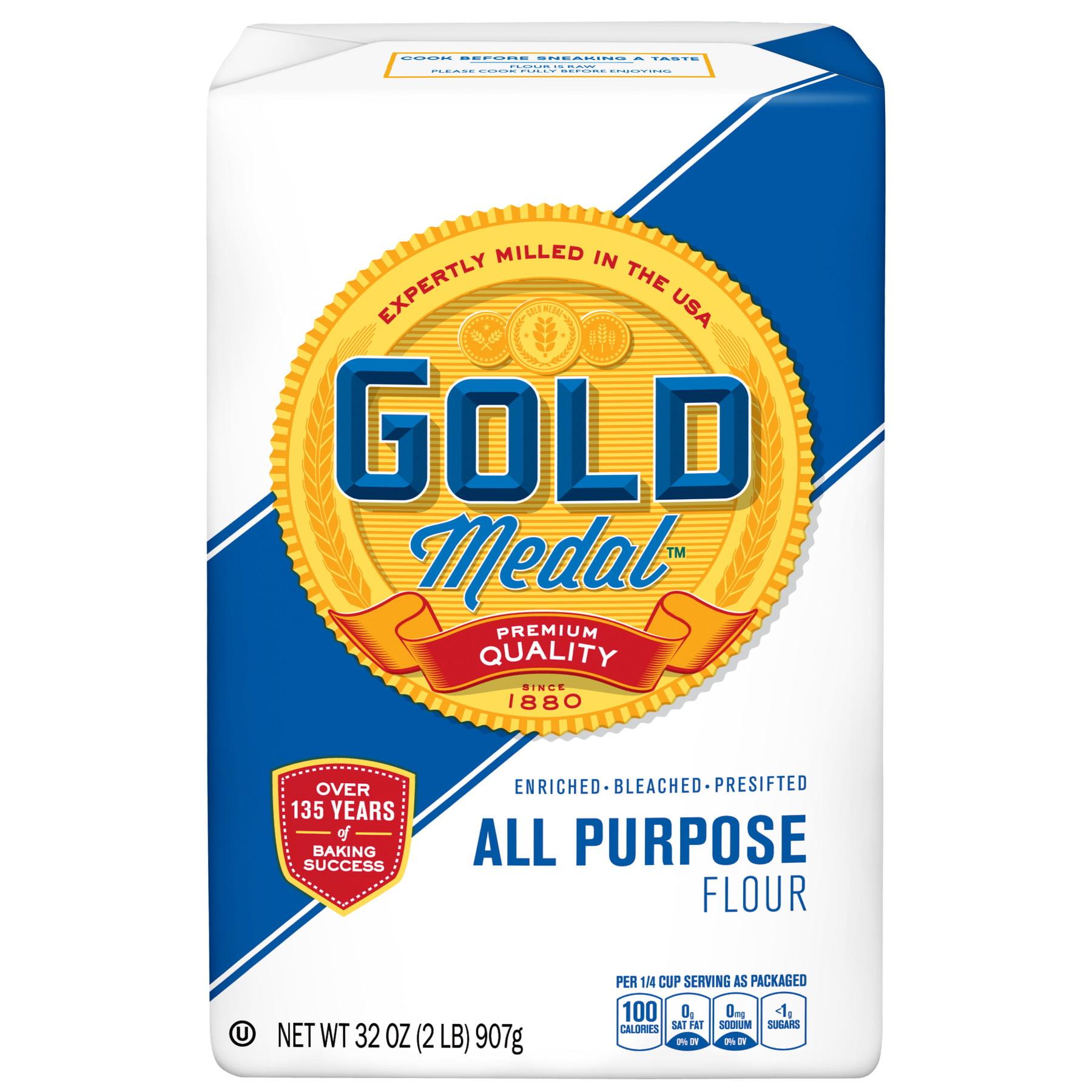 Gold Medal All-Purpose Flour, 2 lb Bag