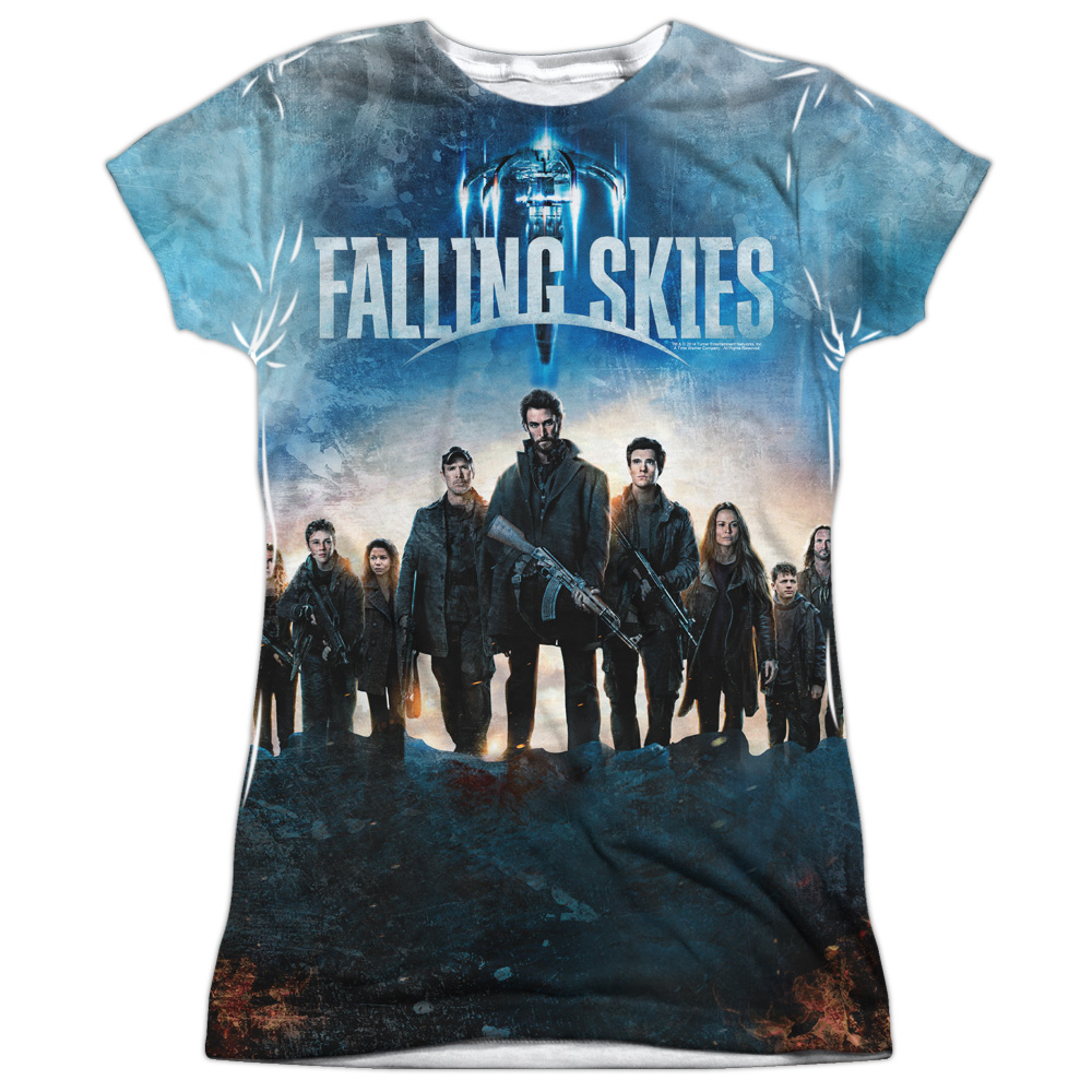 Falling Skies Battle Juniors Sublimation Shirt