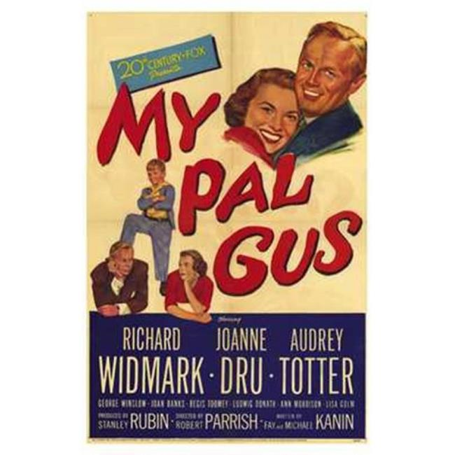 Posterazzi MOV209625 My Pal Gus Movie Poster - 11 x 17 in. - image 1 de 1