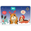Puppies HoHoHo Walmart Gift Card