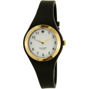 Kate Spade New York Women's Rumsey 1YRU0642 Black Silicone Quartz Watch