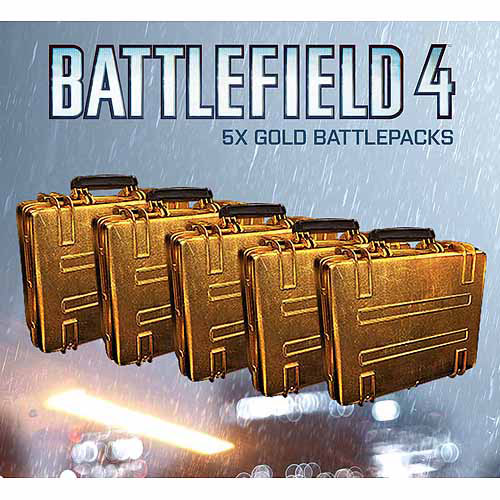 Electronic Arts Battlefield: 4 and 5 Gold Battlepacks (Digital Code)