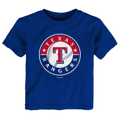 Texas Rangers Toddler Team Primary Logo T-Shirt - - Texas Rangers Bedding