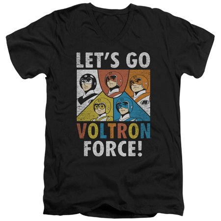 Voltron - Force - Slim Fit V Neck Shirt - Large