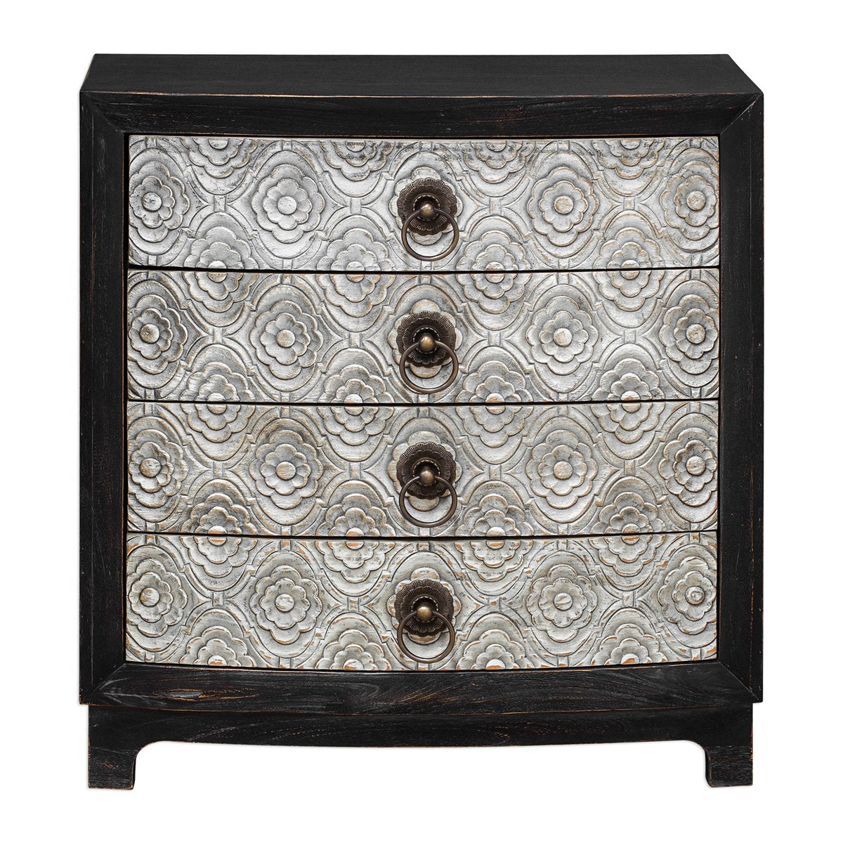 """32"""" Ramila Hand Carved Accent Chest"""