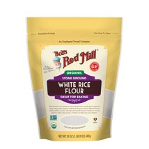 Flours & Meals: Bob's Red Mill Organic White Rice Flour
