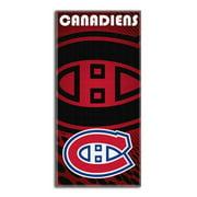 Montreal Canadiens NHL 28x58 Fiber Reactive Cotton Beach Towel