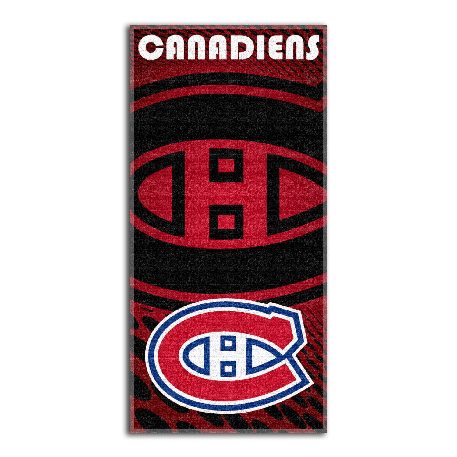 Montreal Canadiens NHL 28x58 Fiber Reactive Cotton Beach Towel