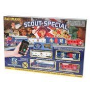 Bachmann Trains HO Scale Scout Special Boy Scouts Of America E-Z App Smart Phone Controlled Electric Train Set