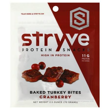 Stryve Foods - Baked Turkey Protein Bites Cranberry - 2.5
