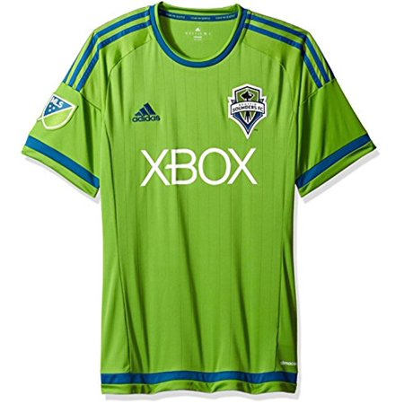 f240642645f adidas - MLS Seattle Sounders FC Men's Replica Short Sleeve Jersey, Large,  Green - Walmart.com