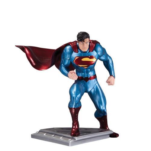 Superman Man Of Steel Statue By Jim Lee