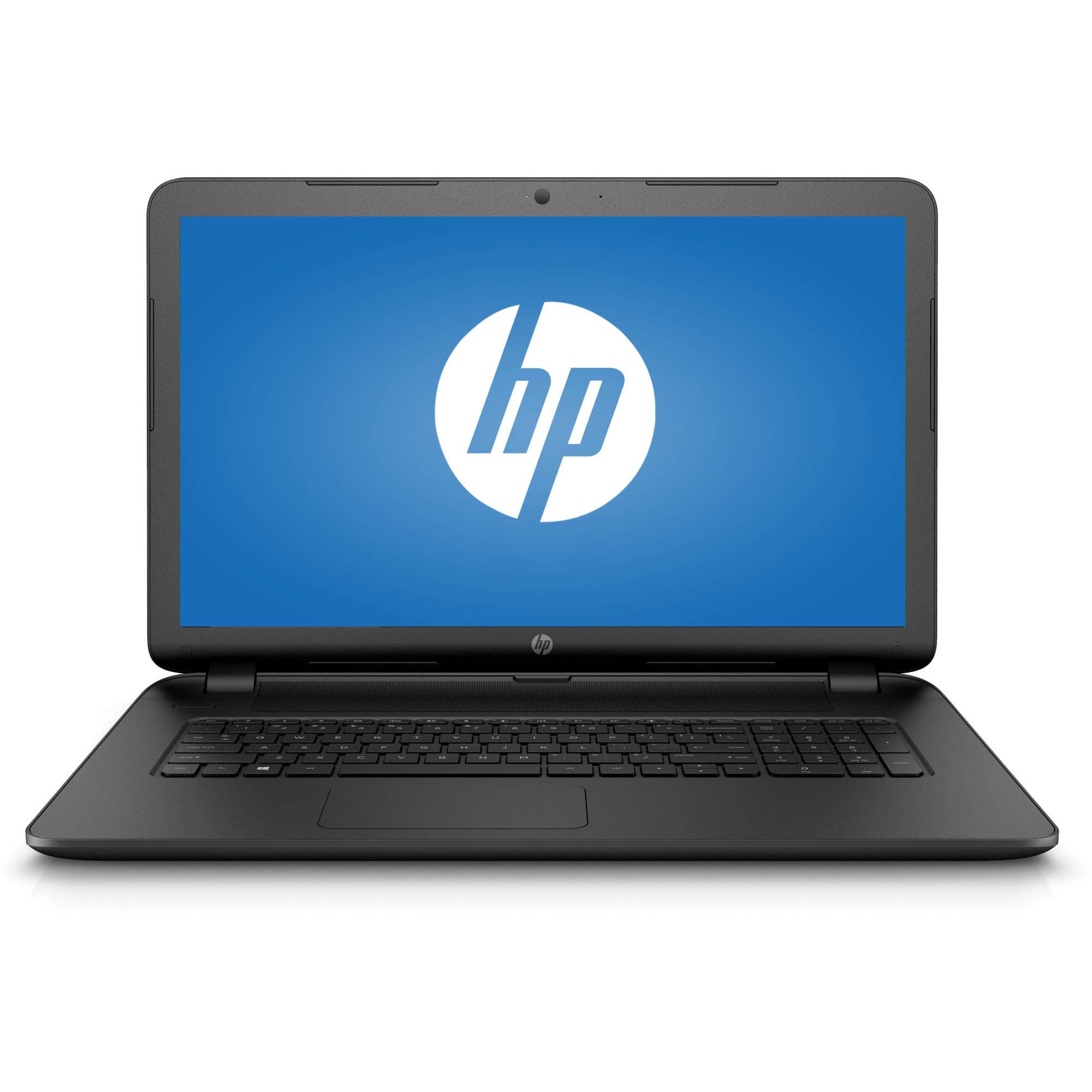 "HP Black 17.3"" 17-p120wm Laptop PC with AMD A8-7050 Dual-..."
