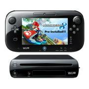 Refurbished Nintendo Wii U 32GB Mario Kart 8 Pre-Installed Game Deluxe Set Bundle HDMI