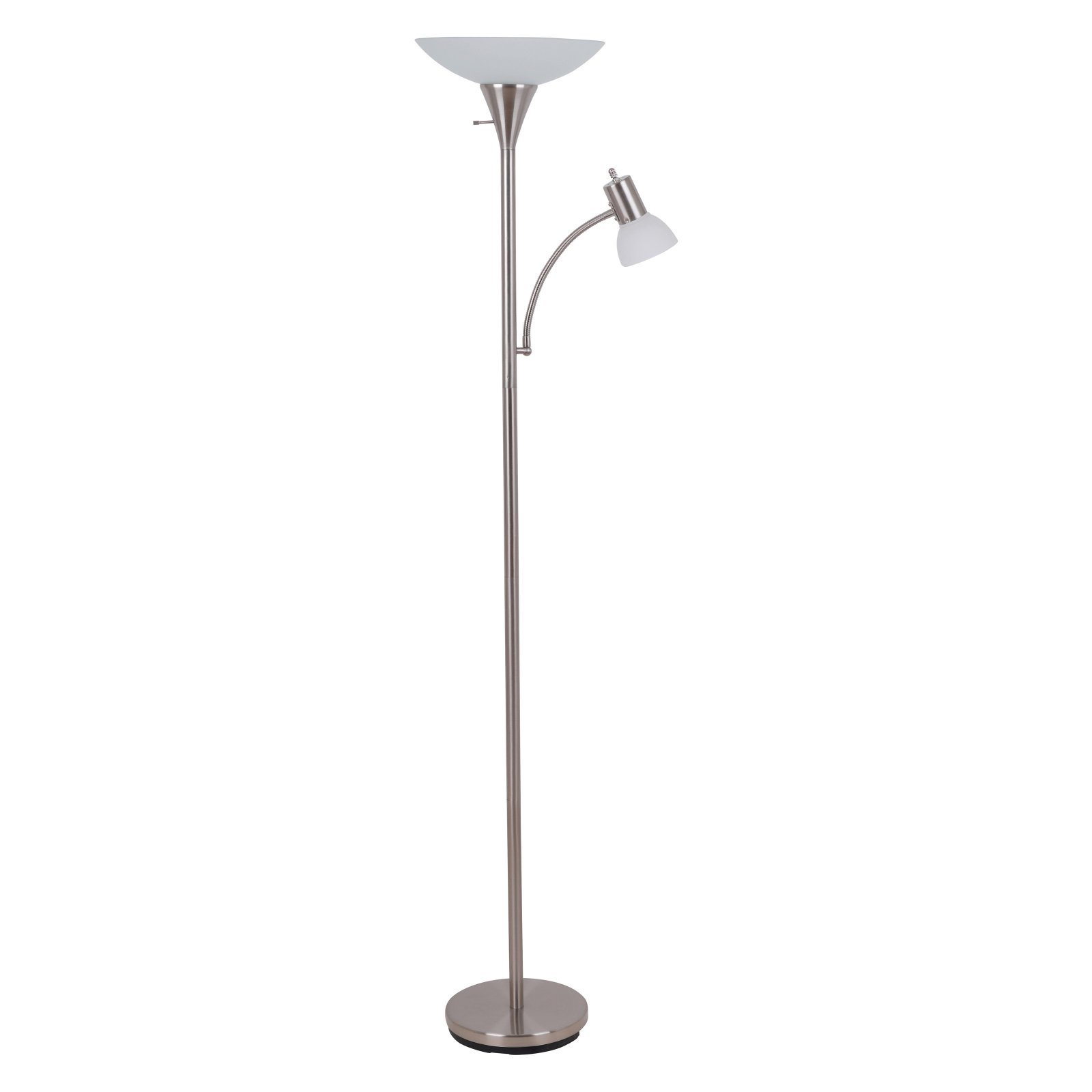 "Catalina 71"" Combo Floor Lamp, Brushed Nickel Finish by Evolution Lighting, LLC"