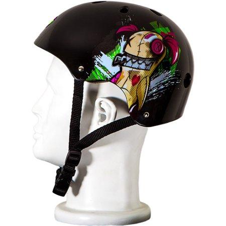 Punisher-Skateboards-Jinx-Adjustable-All-Sport-Skate-Style-Helmet-Medium