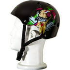 Punisher Skateboards Jinx Adjustable All-Sport Skate-Style Helmet, Medium