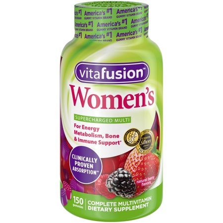 Vitafusion Women's Gummy Vitamins, 150ct (Best Multivitamin For Immune System)