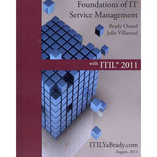 Foundations of It Service Management With Itil 2011: Itil Foundations Course in a Book