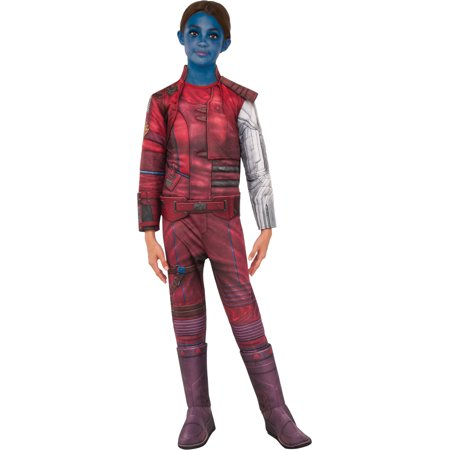 Child's Girls Deluxe Guardians Of The Galaxy Vol. 2 Nebula Costume