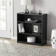 Mainstays 31 3 Shelf Standard Bookcase Black