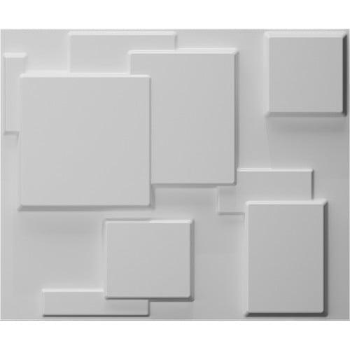 Instant Mosaic 3D Wall Cubes Wainscot Panels