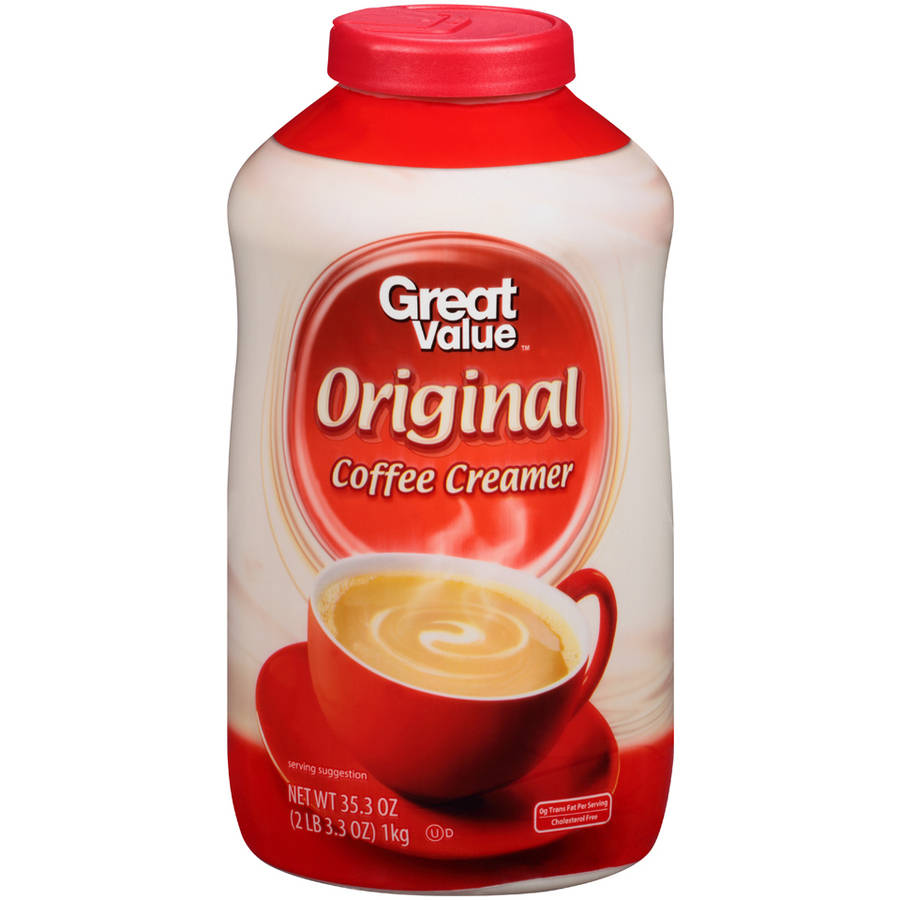 Great Value Non-Dairy Coffee Creamer, 35.3 oz