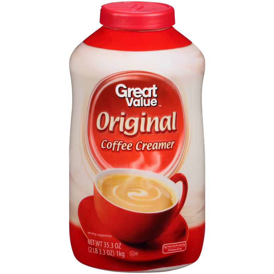 Great Value Non-Dairy Coffee Creamer, 35.3 oz