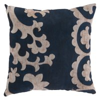 Surya Reversed Smooth Scroll Outdoor Pillow